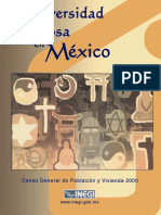 INEGI - La Diversidad Religiosa en México