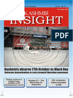 Kashmir Insight-November 2016