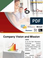Company Profile Beone Solution 2016