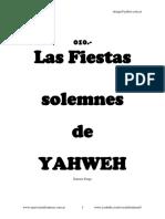 Las Fiestas Solemnes de YHWH