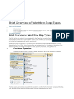 Overview about SAP Business workflow