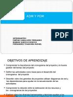 ADM Y PDM