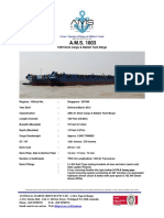 Eunsung 1200 Jack-Up Barge Datasheet