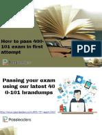 Passleaders 400-101 Practice Exam