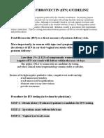 fFN.protocol.March15.2007+FU sheet