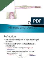 0708 Optics Mirrors and Lenses