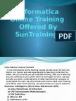 Informatica course content