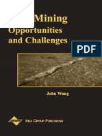 Data Mining Opportunities And Challenges - John Wang 2003.pdf