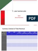3 Years Plan