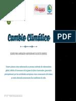 CAMBIO CLIMÁTICO, DESAFÍOS PARA LA MITIGACIÓN Y ADAPTACIÓN ANTE SUS EFECTOS ADVERSOS