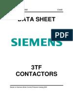 Siemens 3TF Contactors