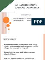 Kas Dan Rekening Giro Bank Indonesia