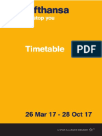 LH Timetable 2017