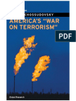 America s War on Terrorism by Michel Chossudovsky
