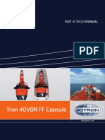 Tron 40VDR Float Free Capsule Inst & Tech Manual
