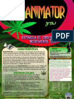 Reanimator grow cannabis marihuana crecimiento estimulante