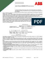Anr-lan Modbus Tcp Protocol