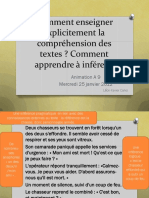 Comment Enseigner Explicitement La Comprehension Des Textes X Calvo