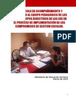 Protocolo Para Ayuda a DRE