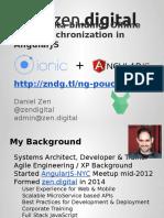 Data Synchronization in AngularJS