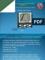 Mecánica de Rocas 13 a Tiempo Temperatura y Humedad