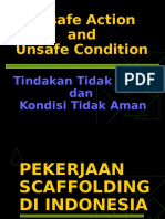 Unsafe Action n Unsafe Condition - Scaffolding
