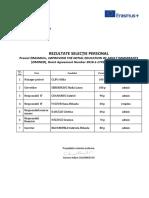 Rezultate evaluare 2IMINED