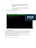 Deshabilitar La Aplicación de Firma de Controlador de Forma Permanente en Windows 10