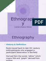 Ethnography Presentation 2 Latest