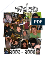 2007-2008 Sawdon Yearbook