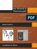 Laporan Industi Proses Thermometer Bimetal & Thermocouple