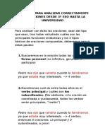 DECÁLOGO PARA ANALIZAR CORRECTAMENTE LAS ORACIONES.docx