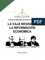 La Caja Negra de La Economía Venezolana