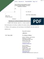 Zapmedia Services, Inc. v. Apple, Inc. - Document No. 13
