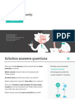 Echo Box Product Fact Sheet