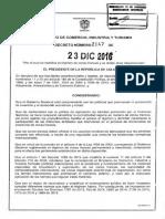 Zona Franca Decreto 2147-2016