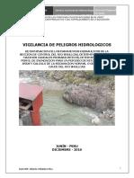 Estudio de la subcuenca del rio Shullcas