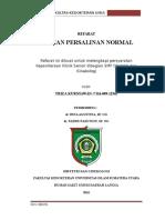 Cover Refarat Persalinan Normal