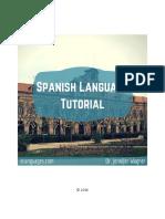 Spanish Tutorial Sample