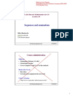 L5 Sequences Summations