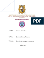 TRABAJOECONOMIA MINERA -docx