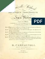 1827 Campagnoli - Nouvelle Methode Violon