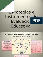 Estrategias e Instrumentos de Evaluacion Educativa (m.f.)