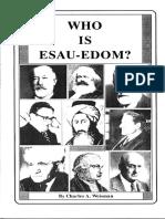 who is esau edom c a Weisman