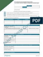 2. Modelo de Coordinación de Actividades Empresariales