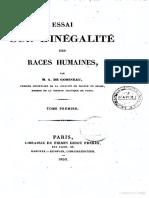 Gobineau - Ensaio Sobre a Desigualdade Das Raças Humanas