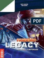 Pandemic Legacy Reglas
