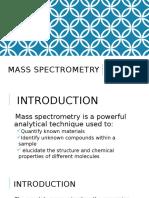 Mass Spectrometry