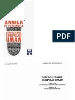 16053427 Simbolismul Corpului Uman Annick de Souzenelle AMARCORD