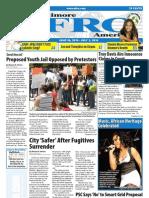 Baltimore Afro-American Newspaper, June 26, 2010